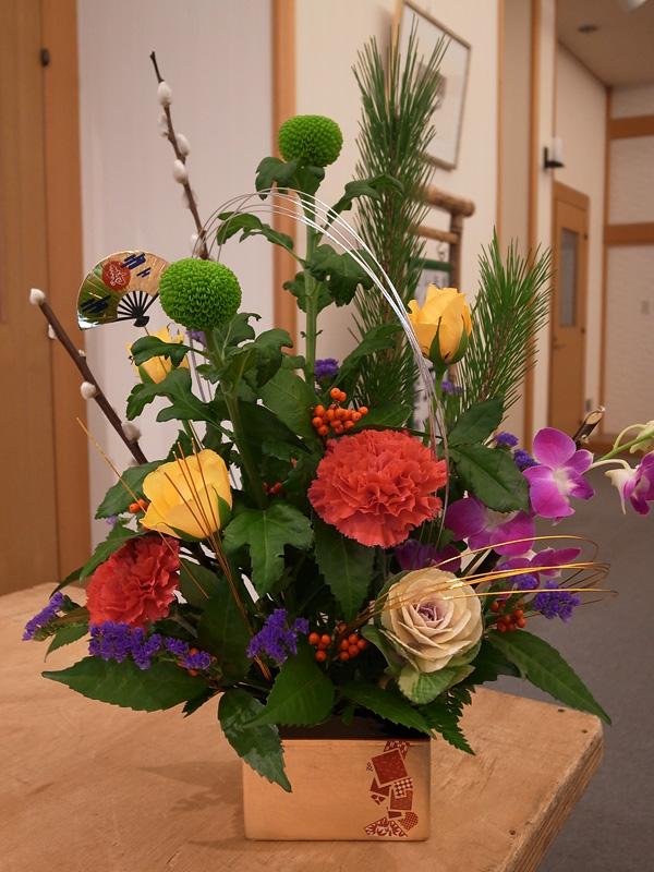 年末恒例の大人気イベント「お正月飾り」を開催しました
